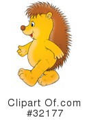 Hedgehog Clipart #32177