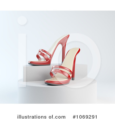 High Heel Clipart #1069291 by Mopic