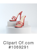 Royalty-Free (RF) heels Clipart Illustration #1069291