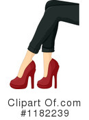 Royalty-Free (RF) Heels Clipart Illustration #1182239