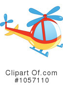 Helicopter Clipart #1057110 by yayayoyo