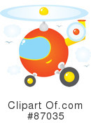 Helicopter Clipart #87035 by Alex Bannykh