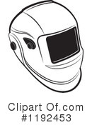 Helmet Clipart #1192453 by Lal Perera