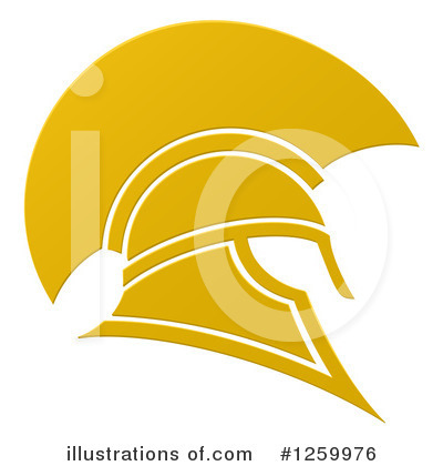 Helmet Clipart #1259976 by AtStockIllustration