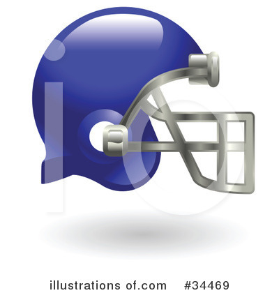 American Football Clipart #34469 by AtStockIllustration
