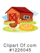 Hen Clipart #1226045 by Graphics RF