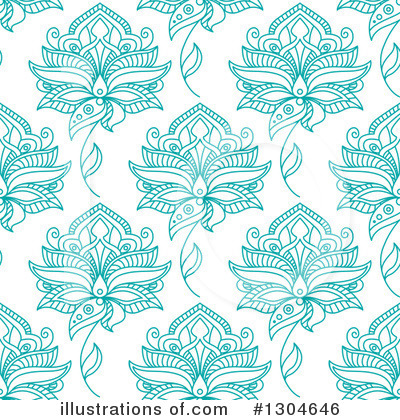 Floral Background Clipart #1304646 by Vector Tradition SM