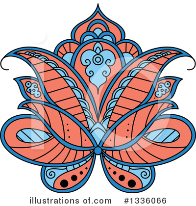 Lotus Clipart #1336066 by Vector Tradition SM