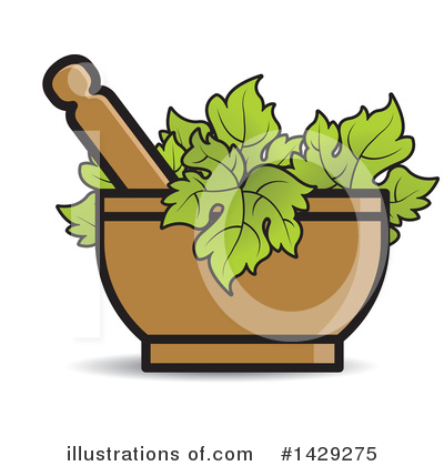 Mortar And Pestle Clipart #1429275 by Lal Perera