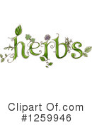 Herbs Clipart #1259946 by BNP Design Studio