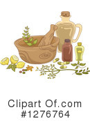 Herbs Clipart #1276764 by BNP Design Studio