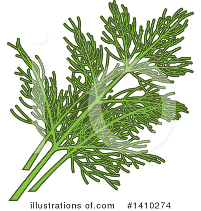 Herb Clipart #1410274 by Vector Tradition SM