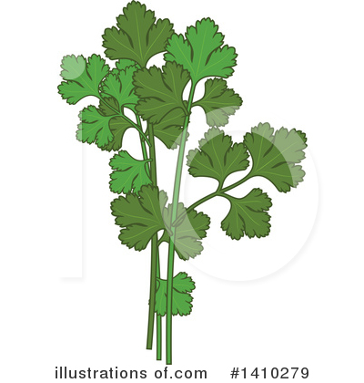 Herb Clipart #1410279 by Vector Tradition SM