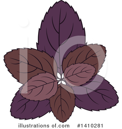 Herb Clipart #1410281 by Vector Tradition SM