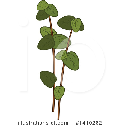 Herb Clipart #1410282 by Vector Tradition SM