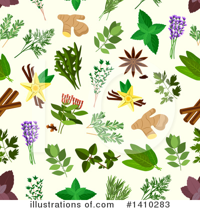 Parsley Clipart #1410283 by Vector Tradition SM