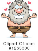 Hermit Clipart #1263300 by Cory Thoman
