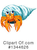 Hermit Crab Clipart #1344626 by Graphics RF