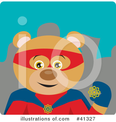Bear Clipart #41327 by Dennis Holmes Designs