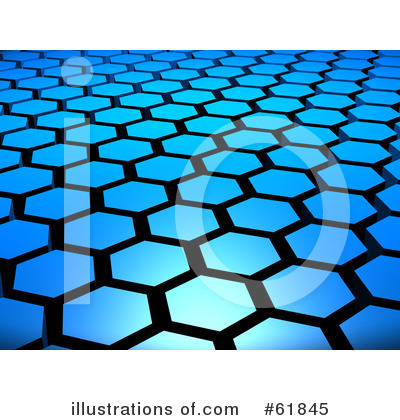 Hexagons Clipart #61845 by ShazamImages