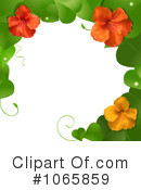 Royalty-Free (RF) hibiscus Clipart Illustration #1065859