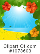 Royalty-Free (RF) Hibiscus Clipart Illustration #1073603