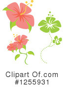 Royalty-Free (RF) Hibiscus Clipart Illustration #1255931