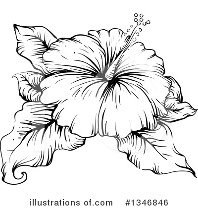 Flower Clipart #1346846 by BNP Design Studio