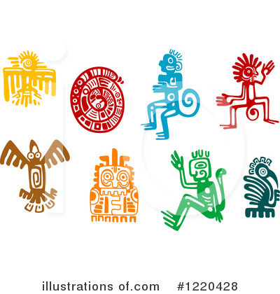 Aztec Clipart #1220428 by Vector Tradition SM