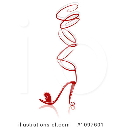 High Heel Clipart #1097601 by BNP Design Studio