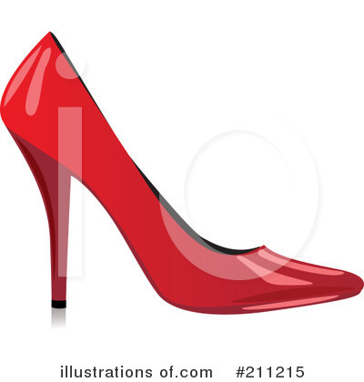 High Heel Clipart #211215 by Eugene