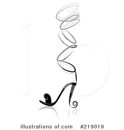 High Heel Clipart #219019 by BNP Design Studio