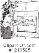 High School Clipart #1219525 by Picsburg