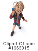 Hiker Clipart #1663915 by Julos