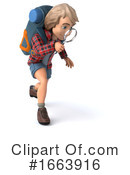 Hiker Clipart #1663916 by Julos