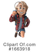 Hiker Clipart #1663918 by Julos