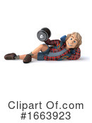 Hiker Clipart #1663923 by Julos