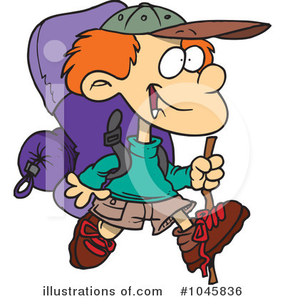 Camping Clipart #1045836 by toonaday