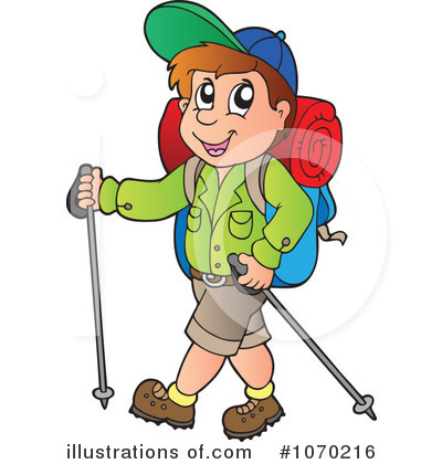 Hiking Clipart #1070216 by visekart