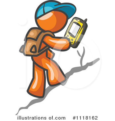 Hiking Clipart #1118162 by Leo Blanchette