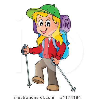 Hiking Clipart #1174184 by visekart