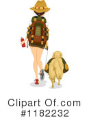 Royalty-Free (RF) Hiking Clipart Illustration #1182232