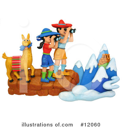 Hiking Clipart #12060 by Amy Vangsgard