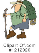 Royalty-Free (RF) Hiking Clipart Illustration #1212920