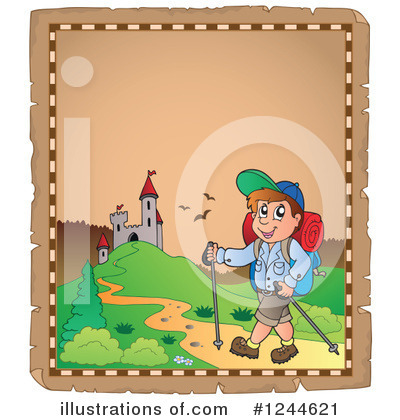 Hiking Clipart #1244621 by visekart