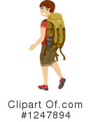 Hiking Clipart #1247894 by BNP Design Studio