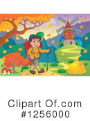 Royalty-Free (RF) Hiking Clipart Illustration #1256000