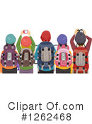 Royalty-Free (RF) Hiking Clipart Illustration #1262468
