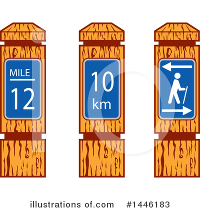 Hiking Clipart #1446183 by patrimonio