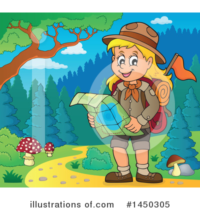 Hiking Clipart #1450305 by visekart
